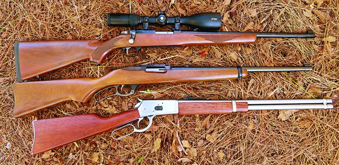 44 Remington Magnum cartridge rifles